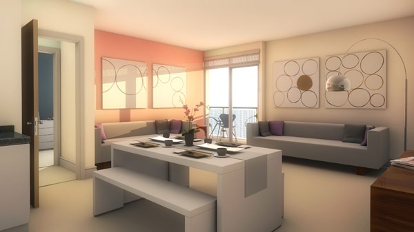interior virtual CGI