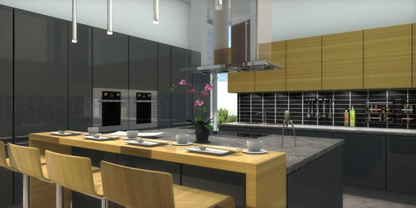 kitchen visualization
