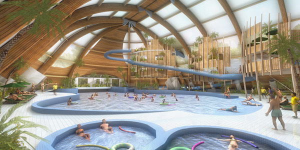 leisure center 3d